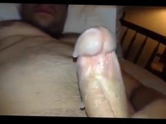 Jerking off vidz my really  super hard cock and cuming