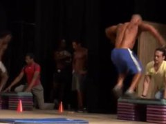 Ripped bodybuilder vidz in fitness  super competition handsome also