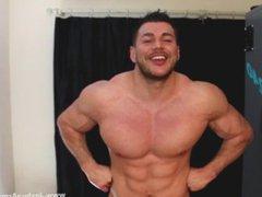 Tanning Bed vidz Voyeur Muscle  super Wank