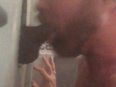 Gloryholes in vidz Philadelphia Sucks  super Thick Fat Black Cock