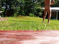 Morning exercise vidz naked