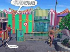 Intern having vidz fun at  super Summer internship at Carnival