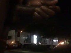 Flashing A vidz Truck Driver  super And CUMMING