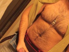 Don Stone vidz In Sexy  super Hot Outfit Hairy Chest In Jeans Masturbating To Porn 5