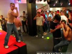Gay old vidz men with  super boy in sex party and college boys group physical and