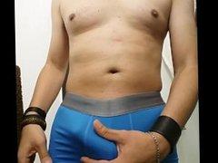 Mi Bulto vidz en mi  super Boxer color Azul 2