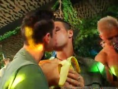 Gay boys vidz group masturbation  super and chain sucking gay boys college sex
