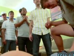 College guys vidz showing his  super dick in class and blond brothers gay porn So