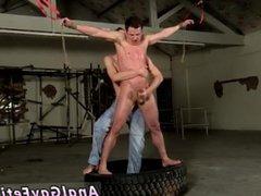 Gay penis vidz bondage cum  super party and cum in ass bondage gay porn video xxx Our