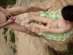 Chinese hot vidz gay couple  super having sex outdoor public I like bottom