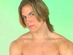Gay Striptease vidz - Blonde  super Long Hair Hunk (Short Tease 1)