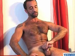 Kamel, innocent vidz delivery guy  super serviced his big cock by a guy!