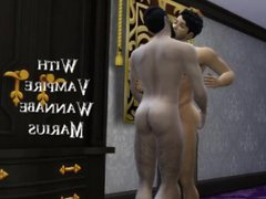 The Sims vidz 4: The  super Vampire