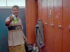 """On BBC vidz """"Men at  super work"""": Shower Time !"""