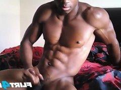 Fit Ebony vidz Stud Flexes  super His Hot Body and BBC