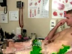 Male doctor vidz examine males  super hot physical group gay first
