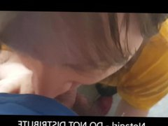 Long haired vidz feminine guy  super give quick blowjob