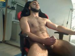 Hot Hairy vidz Guy Beats-Off