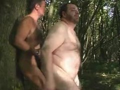 Chubby bear vidz fucking in  super the forest