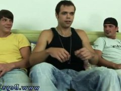 Jake's gay vidz sexy men  super long hard cocks movie first time with eric laying on