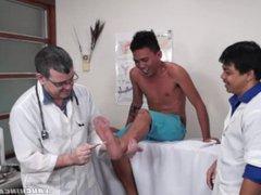 Tickle feet vidz Doctor's