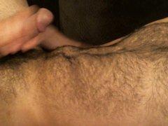 Slim Hairy vidz Guy Jerk  super and Cum