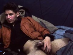 Hairy guy vidz webcam show
