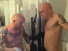 Chav Skinhead vidz double-dicked in  super hot threesome