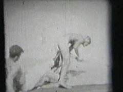 TOP VINTAGE vidz #2 1960'S.  super Brian Idol poses naked with another straight guy