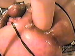 Asshole ripped vidz open by  super giant COCKS.