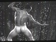 TOP VINTAGE vidz #5 70's  super Scotty Cunningham Dense muscle. His brothers posed too!