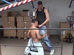 Hard Punks vidz with big  super Cocks in a factory