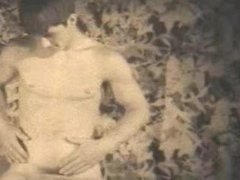 TOP VINTAGE vidz #12 1960's  super SCOTTY CUNNINGHAM Well-Muscled Nude Athlete