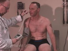 Male Physical vidz Examination -  super Middle aged man #2