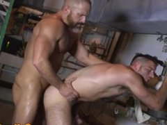 Hunky DILF vidz cocksucked before  super plowing ass