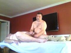 Stretching and vidz rubdown -  super Estiramientos y masaje