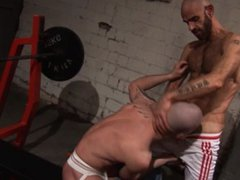 Rough Sex vidz Hunks in  super Sling fuck, suck and cum