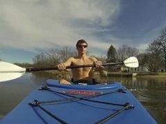 abs kayaking vidz time (no  super nudity)