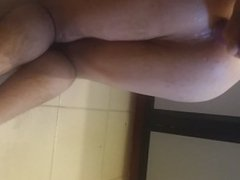 Gaping hole vidz with huge  super toy