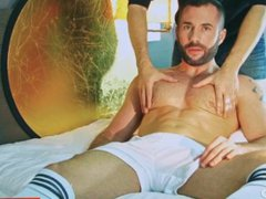 Steyan's ass vidz massage !  super (soccer guy for a gay guy)