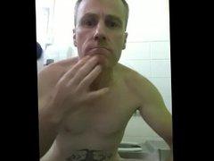 Loser Faggot vidz Exposing in  super Public Toilet