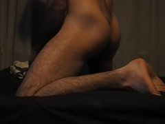 solo male vidz - anal  super fingering & masturbating
