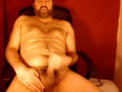 Stroking his vidz cock for  super all to see