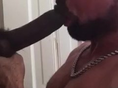 White Muscle vidz Sucking Str8  super BBC Monster