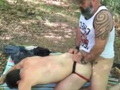 Fucking in vidz the woods