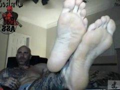 Tatto Guy vidz Feet