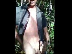 Outdoor Jerk vidz Off, Dirty  super Talk, and Cum Tasting