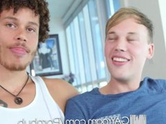 GayRoom Interracial vidz fuck with  super Parker Michaels and Jay Fine