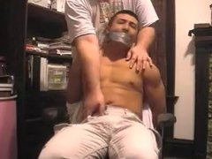 Hot asian vidz guy bound  super and molested