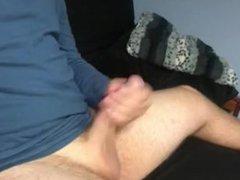 College student vidz has exploading  super orgasm all over himself